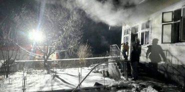 На Городенківщині виникла пожежа в житловому будинку