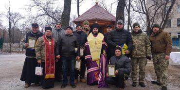Гуцули освятили нову капличку на Сході України. ФОТО