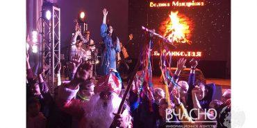 Іванка Червінська з Коломийщини взяла участь у турі Святого Миколая на Донбасі