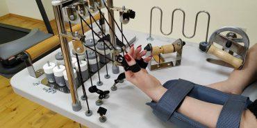 У Коломийський госпіталь ветеранів війни придбали новий апарат для реабілітації