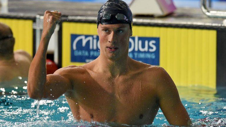 Українець Романчук поставив рекорд на Чемпіонаті світу по плаванню