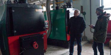 У політехнічному коледжі тривають роботи з встановлення нової опалювальної системи. ФОТО
