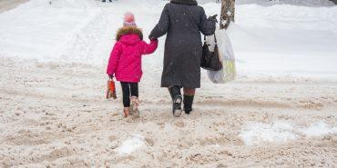 Фото. У Коломиї за три дні випало більше місячної норми снігу