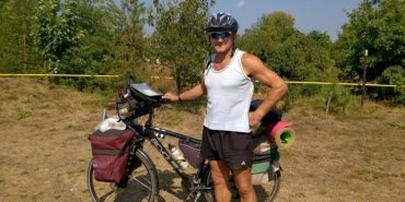 Велосипедист-мандрівник з Прикарпаття об'їхав 18 країн світу. ВІДЕО
