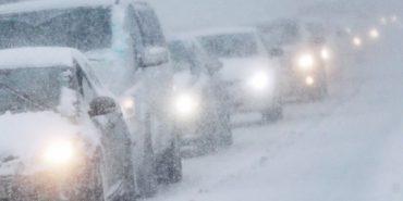 Прикарпатські поліцейські попереджають водіїв і пішоходів про різке погіршення погодних умов