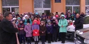 Школярі Коломийщини передали допомогу захисникам на Схід. ВІДЕО