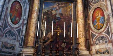 У Ватиканському соборі є наш український тризуб, але у жодному путівнику про нього не згадують