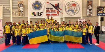 Прикарпатські таеквондисти у складі збірної здобули 1-ше місце на міжнародному турнірі. ФОТО