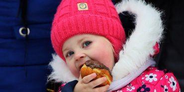 У Шевченківському гаю пройшов ювілейний фестиваль пампуха. ФОТО