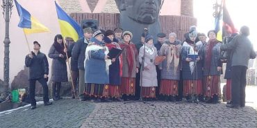 У Городенці відзначили 110-ту річницю від дня народження Степана Бандери. ФОТО