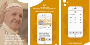 Папа Римський Франциск запустив сайт з мобільним додатком для молитов
