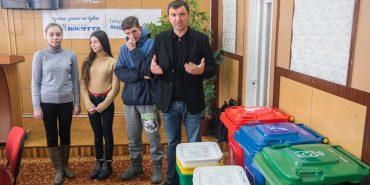 """Фонд """"Покуття"""" розпочинає масштабний проект з сортування сміття у Коломиї та районі. ВІДЕО"""