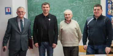 Андрій Іванчук зустрівся з викладачами та студентами Коломийського педколеджу. ФОТО
