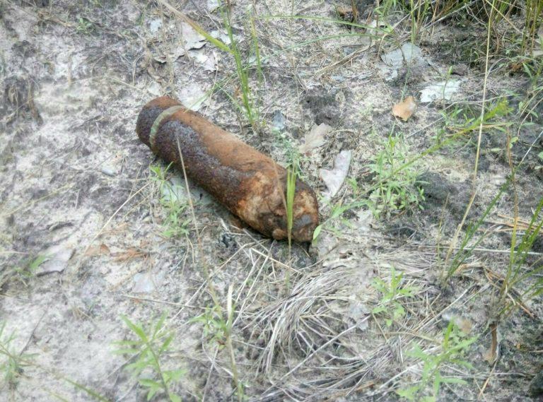 На Прикарпатті виявили і знешкодили вибухонебезпечний предмет