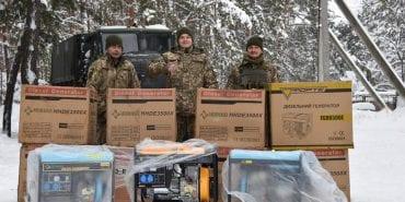 10 бригада, яка дислокується в Коломиї, отримала дизельні агрегати від доброчинців