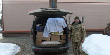 Коломияни передали допомогу 10 бригаді, яка зараз перебуває на Сході. ФОТО