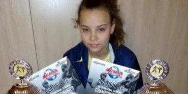 Спортсменка з Прикарпаття перемогла на чемпіонаті Німеччині з кікбоксингу. ФОТОФАКТ