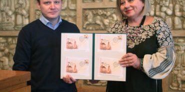 До Дня Соборності в обласному центрі Прикарпаття відбулося спеціальне погашення марки. ФОТО
