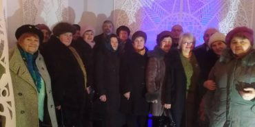 У Коломиї для людей похилого віку влаштували екскурсію музеєм Гуцульщини. ФОТО