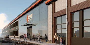 """Як виглядатиме новий торгово-розважальний центр """"Прут"""" у Коломиї. ПРОЕКТ"""