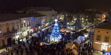 У Коломиї на період Різдвяних свят перекриють рух у середмісті