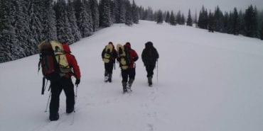 У горах заблукали тренер і дві 14-річні спортсменки з Києва