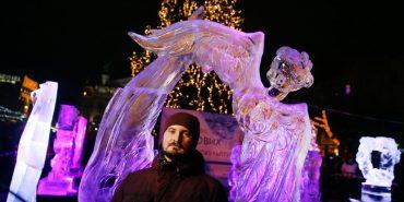 У Львові обирали найкращу льодову скульптуру. ФОТО