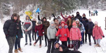 """27 коломиян відпочивають у дитячому християнському таборі """"Зимові канікули з Карітасом"""". ФОТО"""