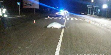 ДТП на Прикарпатті : загинув пішохід, який переходив дорогу в невстановленому місці