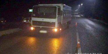 ДТП на Яремчанщині: водій вантажівки наїхав на пішохода, що переходив дорогу у невстановленому місці