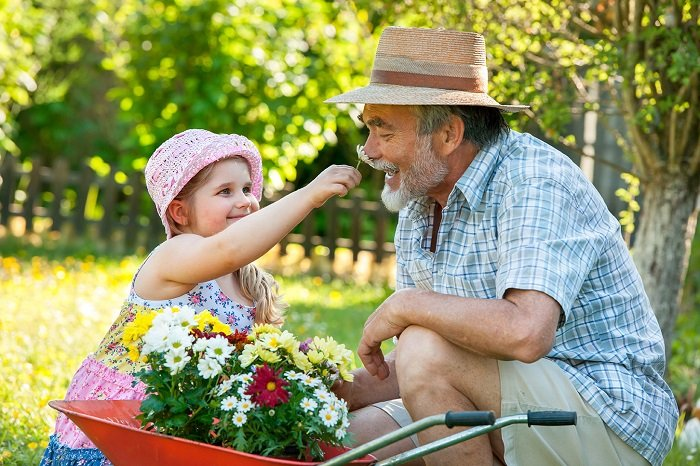 Бабусі та дідусі можуть бути нянями для своїх онуків і отримуватимуть гроші за дітей, але після сплати податків