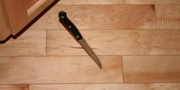 У Коломиї невідомий погрожував людям ножем у магазині. ФОТО