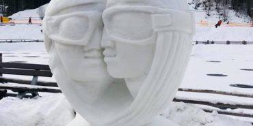 У Буковелі відбувся фестиваль снігових скульптур. ФОТО+ВІДЕО