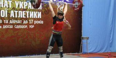 Коломиянка Віталія Филипів стала чемпіонкою України з важкої атлетики