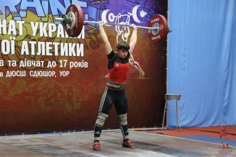 Спортсменка з Прикарпаття стала чемпіонкою України з важкої атлетики