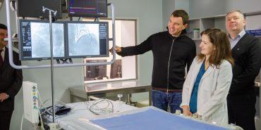 У Коломиї запустили унікальний медапарат ангіограф для діагностики важких серцевих захворювань, отриманий за сприяння Андрія Іванчука