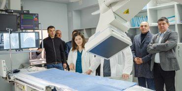 Відео. У Коломиї запустили унікальний медапарат ангіограф, отриманий за сприяння Андрія Іванчука