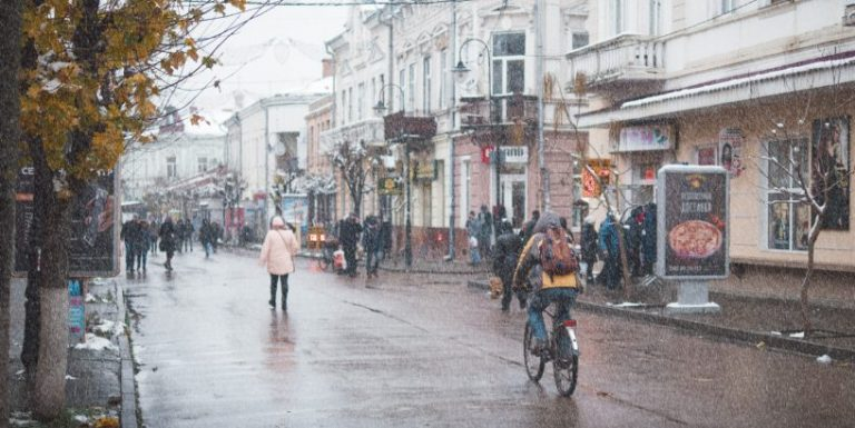 З ранку до самого вечора у Коломиї небо буде вкрите хмарами: погода в Коломиї на 21 лютого