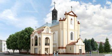 Завтра у Коломиї закладуть капсулу на місці майбутньої дзвіниці біля церкви св. Йосафата. АНОНС