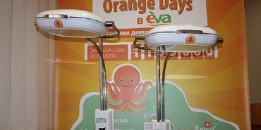 На Прикарпатті лінія магазинів EVA подарувала два апарати фототерапії обласній дитячій лікарні. ФОТО