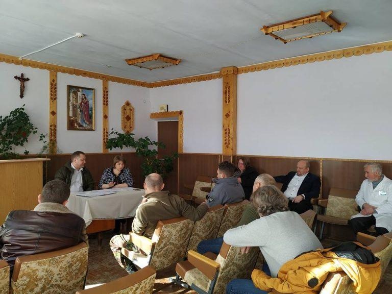 У Коломиї обговорили проблему фінансування госпіталю ветеранів. ФОТО