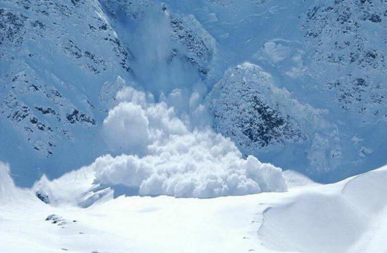 У Карпатах, на схилах гори Брескул, зійшла лавина об'ємом майже тисячу кубометрів
