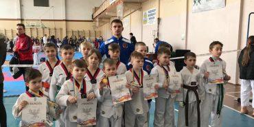 Вихованці Коломийської ДЮСШ здобули 14 медалей на обласному чемпіонаті з тхеквондо ВТФ. ФОТО