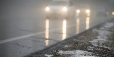 Прикарпатців попереджають про туман і ожеледицю на дорогах