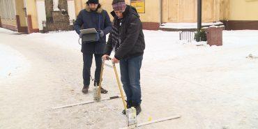 До Коломиї приїхали фахівці з Одеси, щоб дослідити підземелля за допомогою УЗД-апарату. ВІДЕО