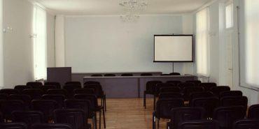 Як виглядає мала зала Народному дому після реставрації. ФОТО