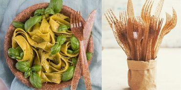 В Україні почали продавати органічний посуд з пшеничних і кукурудзяних висівок. ФОТО