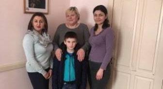 На Франківщині для хлопчика-сироти знайшли нову родину. ФОТО