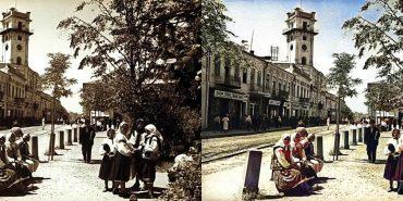 Старі чорно-білі фото Коломиї стали кольоровими