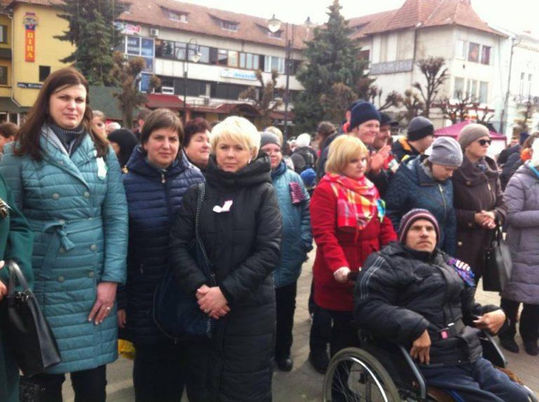 У Коломиї відбулася акція до Міжнародного дня людини з синдромом Дауна. ФОТО